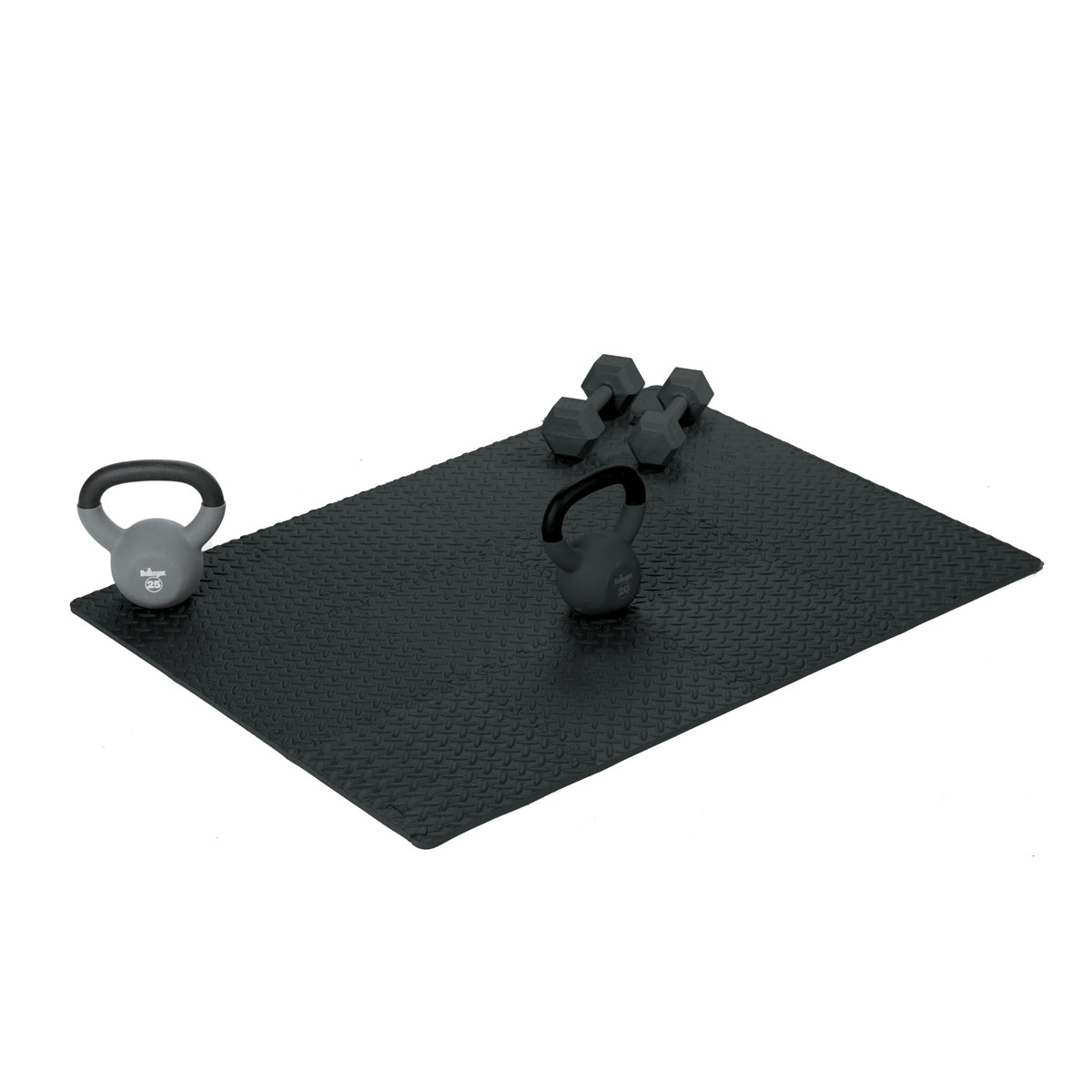 Interlocking Tiles Exercise Mat